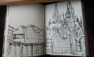 Katja_Schmitt_Cologne_Sketchbook_02_Blindcontour