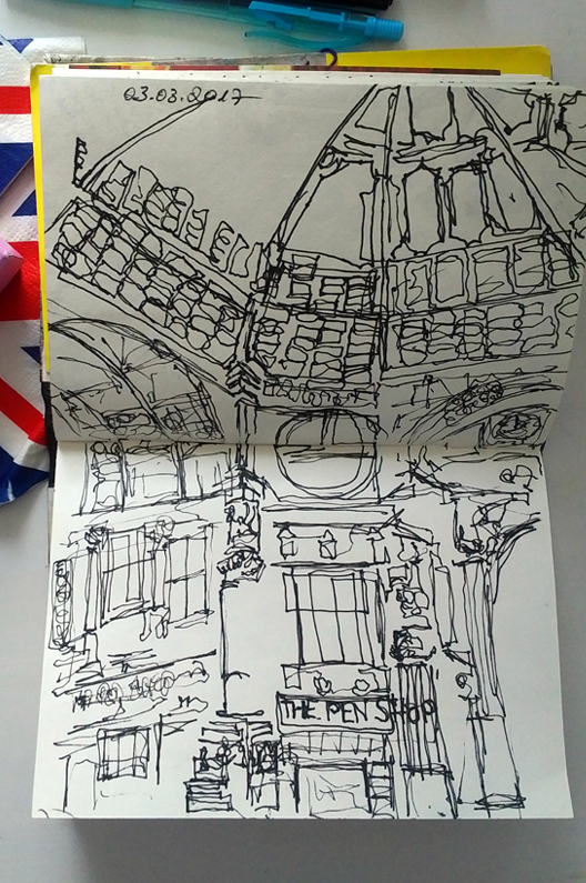 Katja_Schmitt_London_2017_Leadenhall Market_Sketchbook_Skizzenbuch