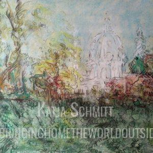 Katja_Schmitt_Vienna_Karlskirche_Pastel_Painting