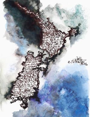 Katja_Schmitt_Cartographers Art_New Zealand_Ink_Watercolour