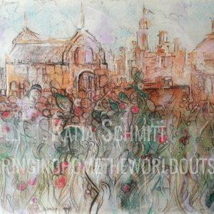 Katja_Schmitt_Hampton_Court_03_Pastel_Painting