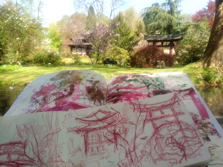 Katja_Schmitt_Japanese Garden Leverkusen_Sketchbooks
