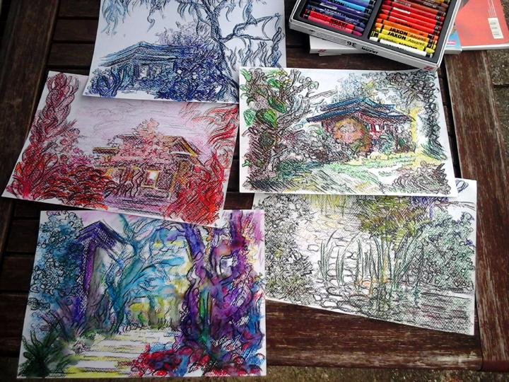 Katja_Schmitt_Japanese Garden Leverkusen_Sketches