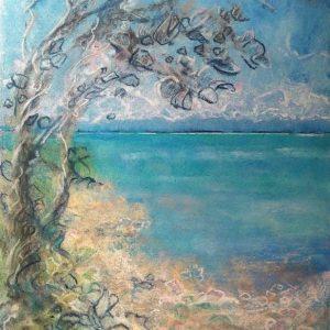 Katja Schmitt New Zealand Abel Tasman 2 Pastel Painting
