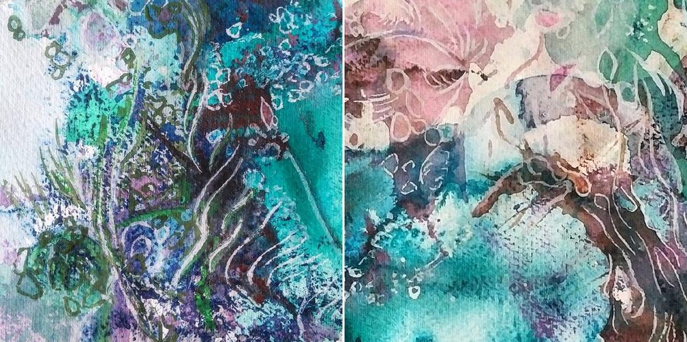Katja Schmitt New Zealand Abel Tasman 3 Watercolour Aquarell