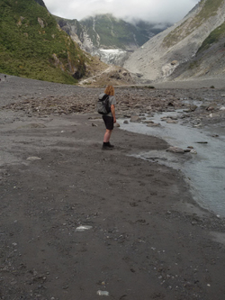 Katja Schmitt New Zealand Fox Glacier Selfie Photo