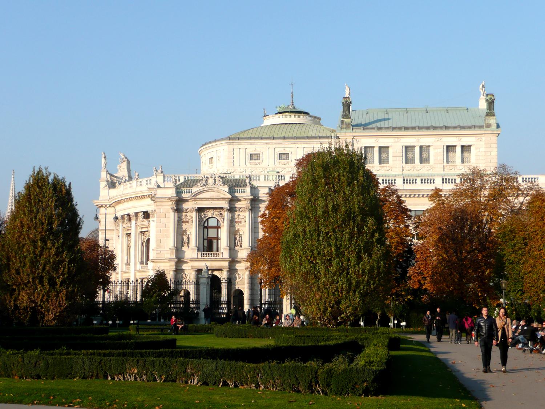 Katja Schmitt Vienna Wien Autumn Herbst Sight Burgtheater