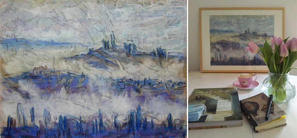 Katja_Schmitt_Toscana_Blues_Pastel_Painting