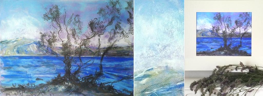 Katja_Schmitt_Wanaka_01_Pastel_Painting_Collage Kopie