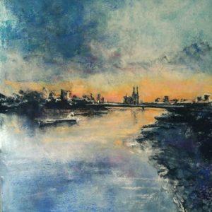 Katja_Schmitt_Cologne_Cathedral_Rhine_Köln_Dom_Rhein_Pastel_Painting