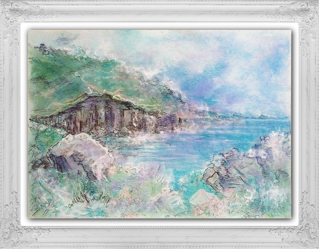 Katja_Schmitt_Cornwall_Coastpath_Lands End_01_Pastel_Painting