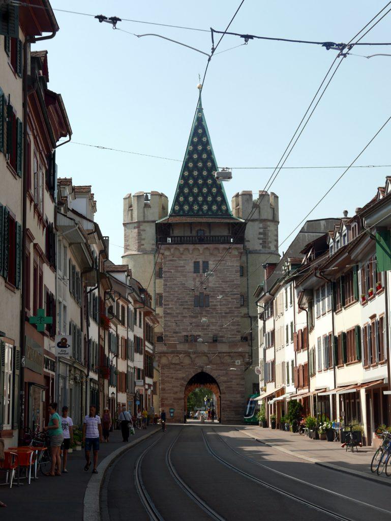 Katja Schmitt Basel City Gate Stadttor Spalentor