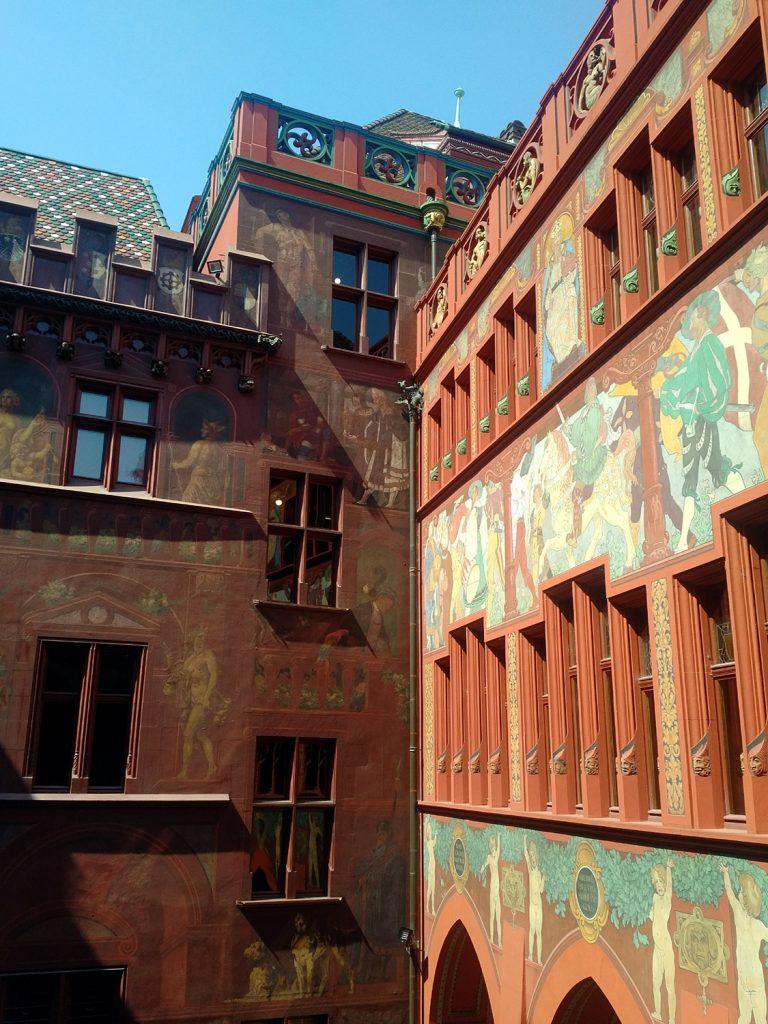 Katja Schmitt Basel Rathaus Townhall Innenhof Courtyard