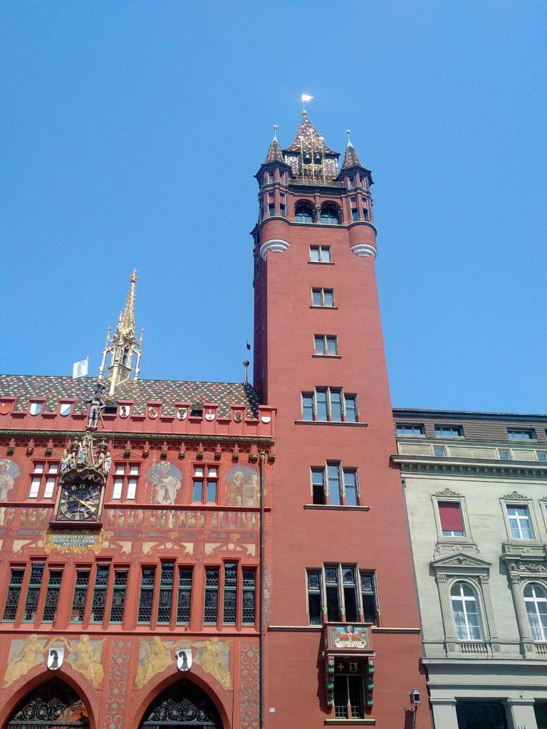 Katja Schmitt Basel Rathaus Townhall Marktplatz Market