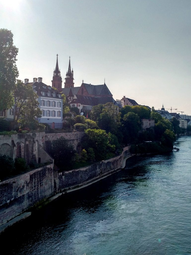 Katja Schmitt Basel Rhine Rhein Cathedral Cityscape