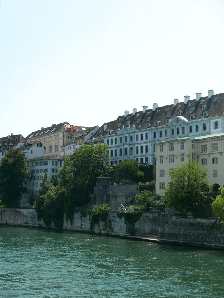 Katja Schmitt Basel Rhine Rhein Garten Cityscape