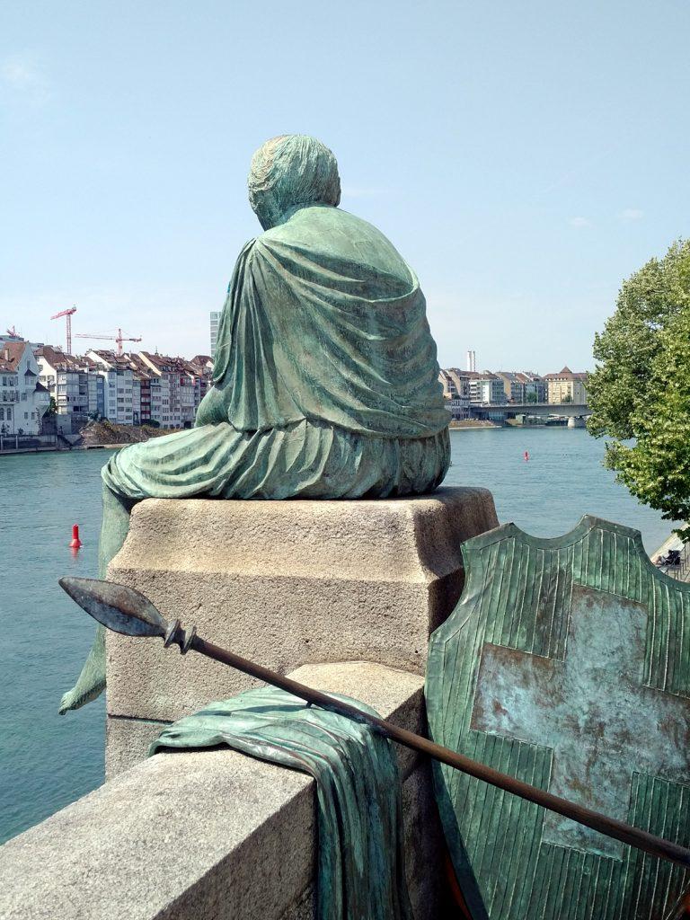 Katja Schmitt Basel Rhine Rhein Helvetia Art Sculpture Cityscape