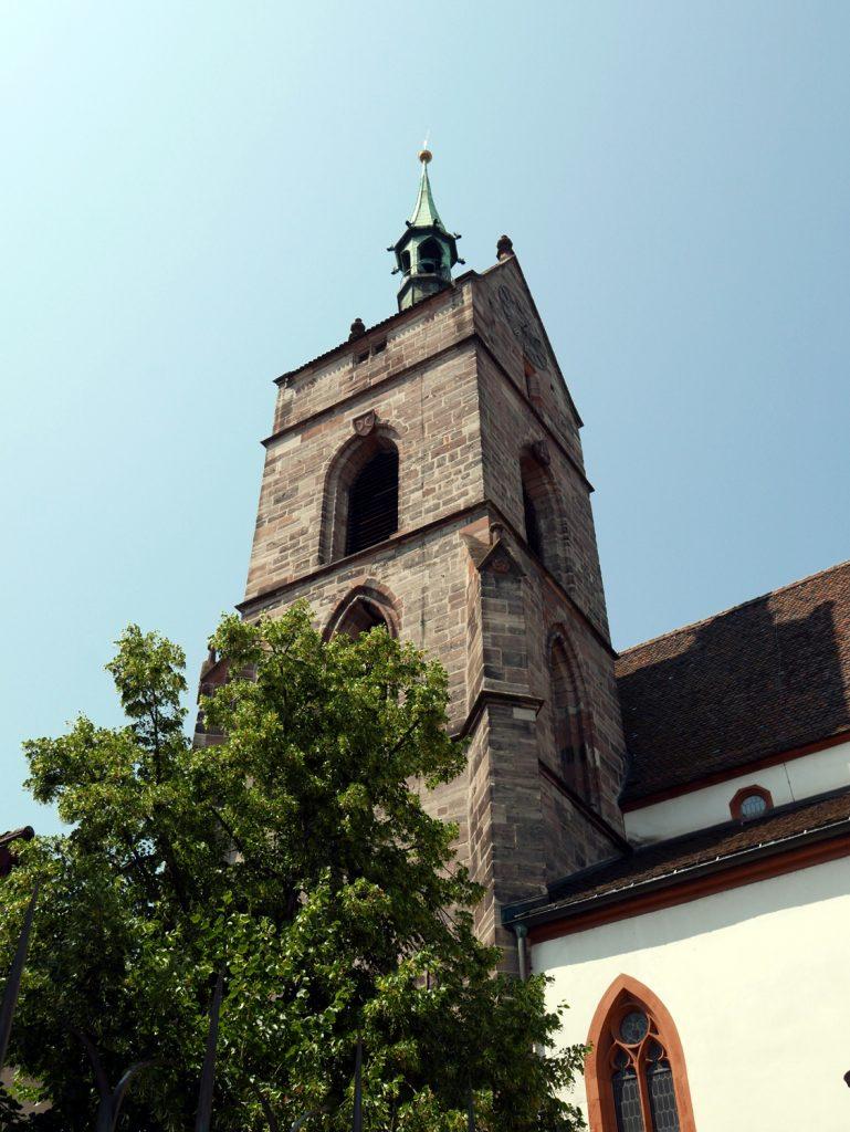 Katja Schmitt Basel Rhine Rhein Martinskirchplatz Church