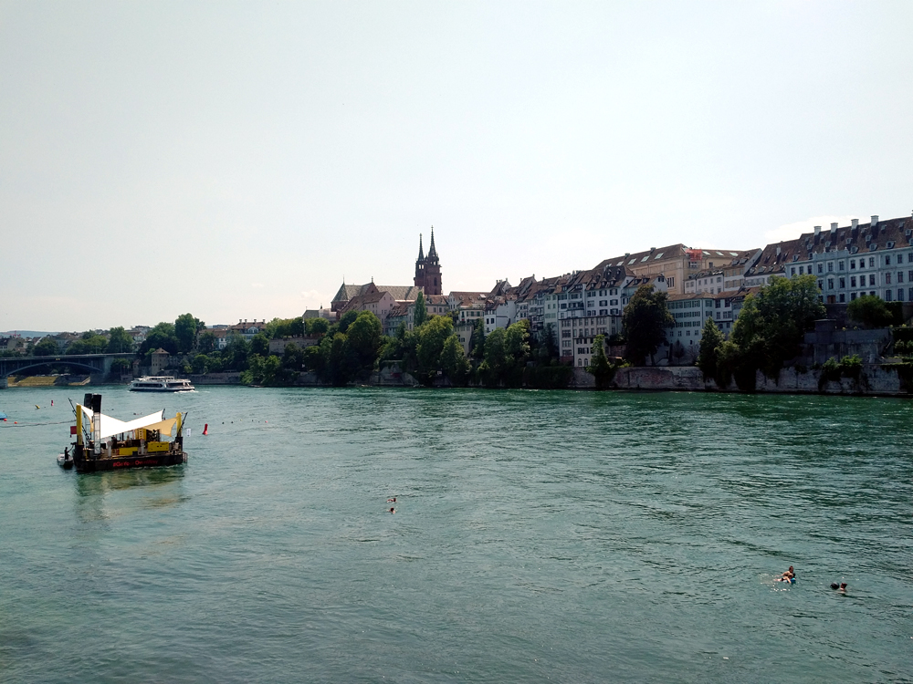 Katja Schmitt Basel Rhine Rhein Panorama City Cathedral