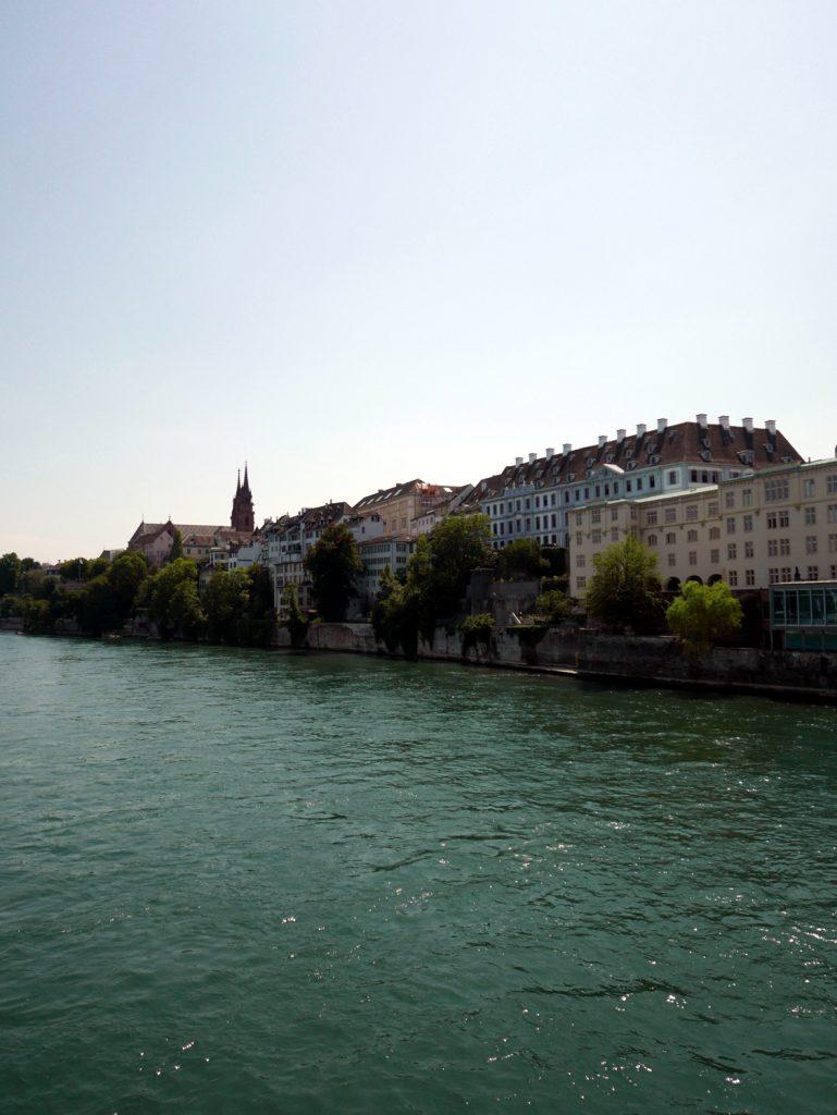 Katja Schmitt Basel Rhine Rhein Panorama Cityscape Cathedral