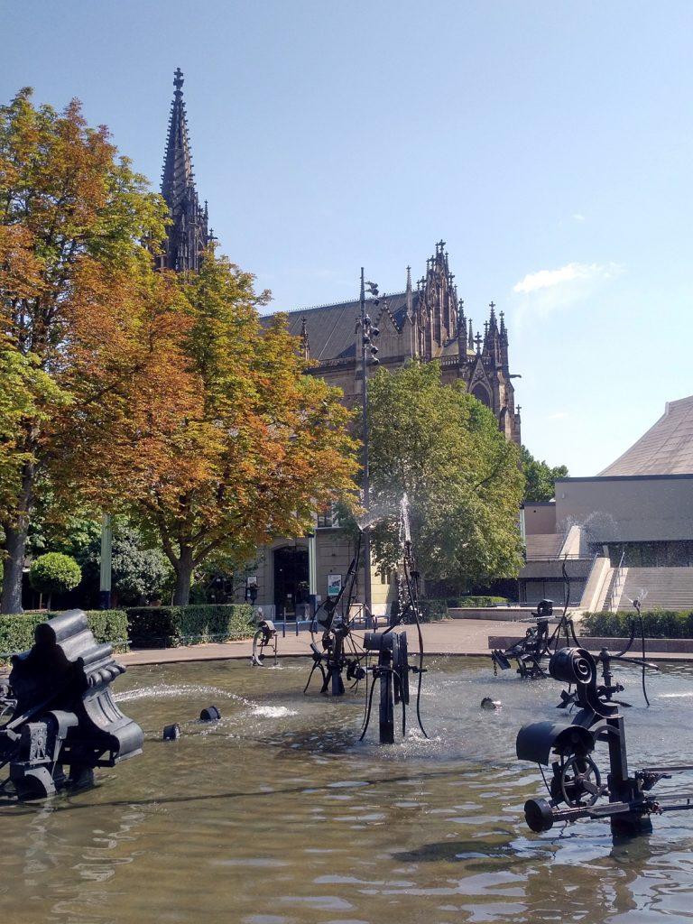Katja Schmitt Basel Tinguely Fountain Brunnen