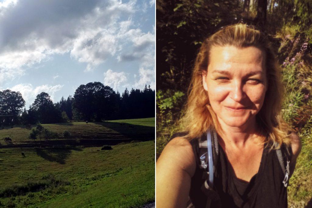 Katja Schmitt Schwarzwald Black Forest Hike Selfie