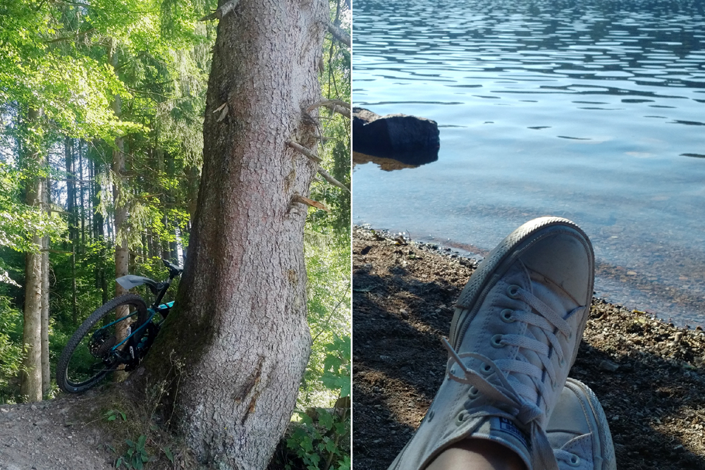 Katja Schmitt Schwarzwald Black Forest Titisee Bike