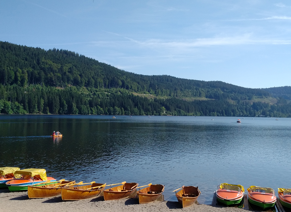 Katja Schmitt Schwarzwald Black Forest Titisee Boats