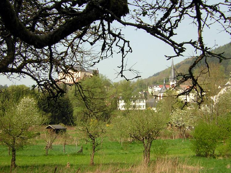 Katja Schmitt Malberg Castle Burg Gardens Gaerten Eifel Kyll