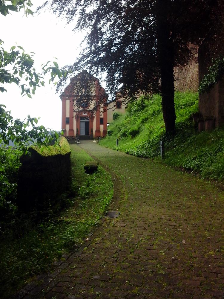 Katja Schmitt Malberg Castle Schloss Kapelle Chapel Eifel