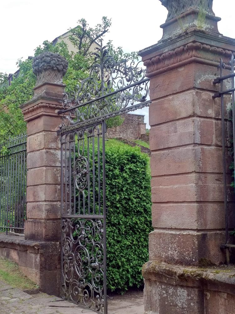 Katja Schmitt Malberg Iron Garden Gate Eisern Garten Tor Eifel