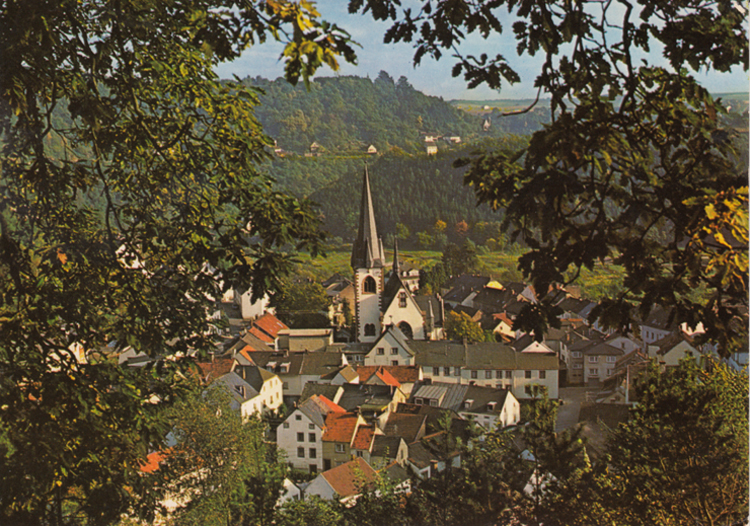 Katja Schmitt Malberg Village Church Dorf Kirche Eifel vintage