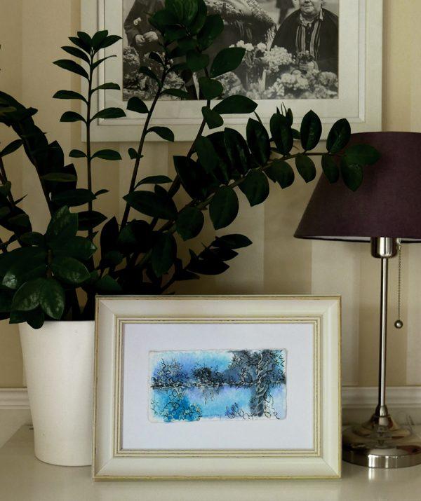 Katja Schmitt New Zealand Bay of Islands Watercolour Aquarel Vignette
