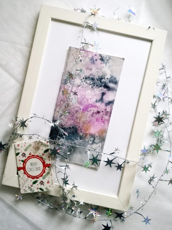Katja Schmitt New Zealand Doubtful Sound Watercolor Aquarell Flatlay Christmas