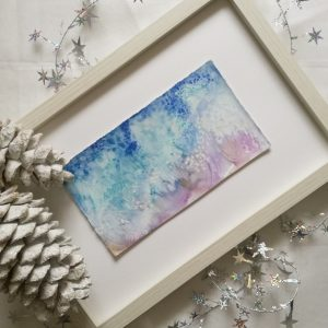 Katja Schmitt New Zealand Pacific Watercolor Aquarell Flatlay Christmas