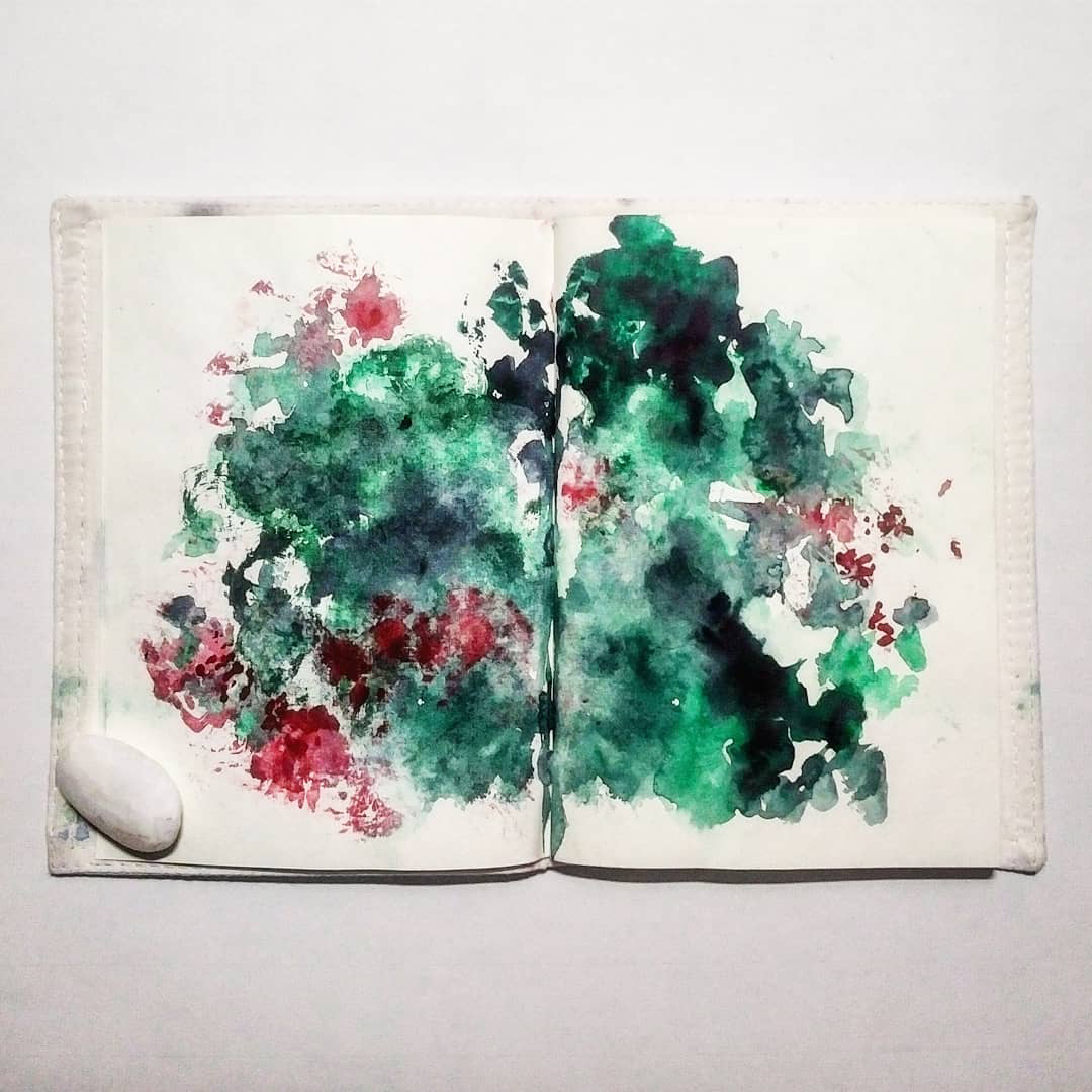 Katja Schmitt New Zealand Pohutukawa Sketchbook Skizzenbuch