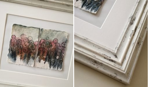 Katja Schmitt Watercolor Aquarell Diptych