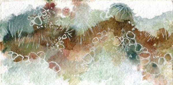 katja schmitt tongariro aquarell landscape