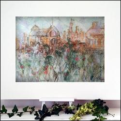 katja schmitt_hampton court_pastel_painting