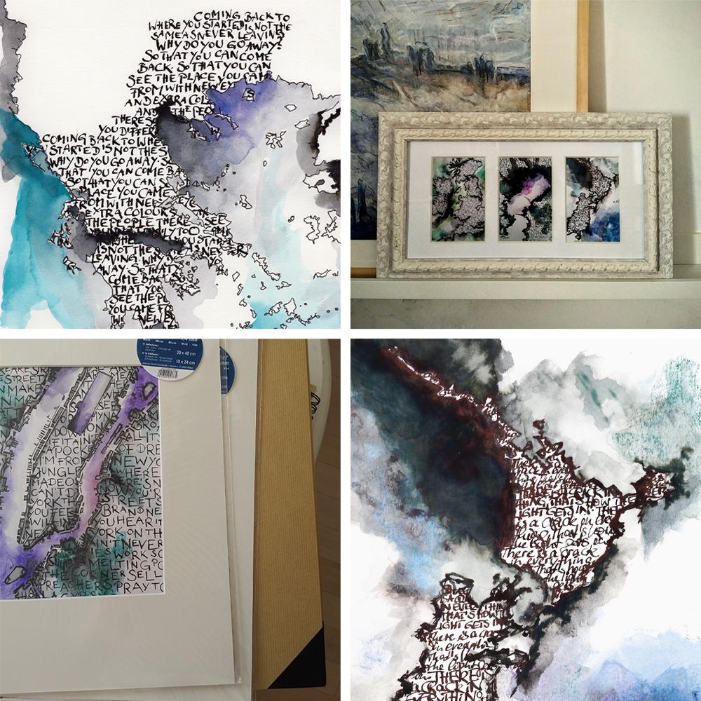 Katja Schmitt New Cartographer's Art